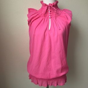 Tops - Pink Cotton Blouse